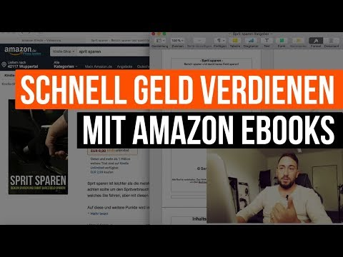 Schnell Geld verdienen mit Amazon eBooks - KDP Select - 2018