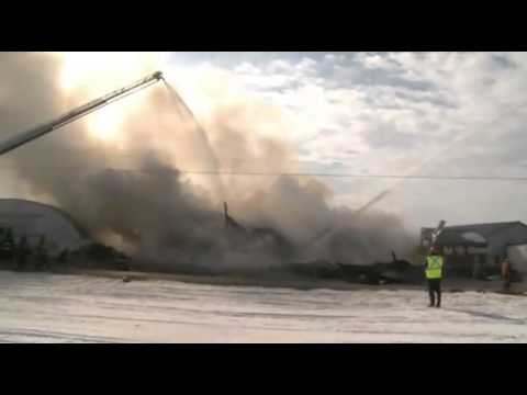 2-13-11: Lehigh Township, Pa. Firefighters Battle Two Blazes