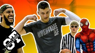 Tyler Herro Gets SUPER POWERS In Overtime Challenge! Tristan Jass Pulls Up For A SECRET Twist 😱