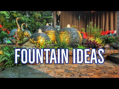 Landscape FOUNTAIN IDEAS | Garden Waterfalls
