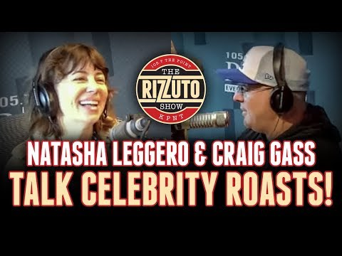 Natasha Leggero & Craig Gass talk CELEBRITY ROASTS and more [Rizzuto Show]