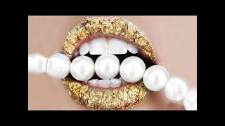 Lipstick Tutorial Compilation 2018   New Lip Art Designs & Ideas - Part#124