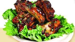 Свиные ребрышки в духовке рецепт Ребра в духовке вторые блюда рецепты блюда из свинины