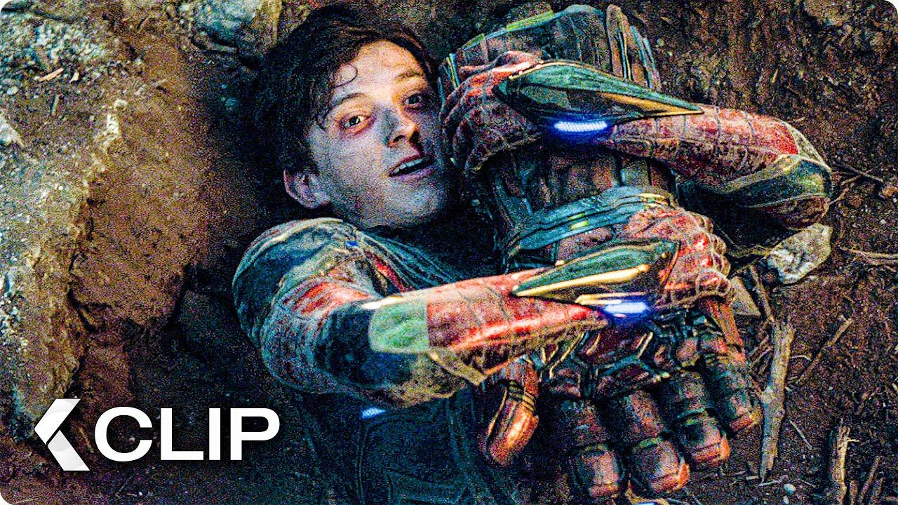 Download Captain Marvel helps Spiderman Scene - AVENGERS 4: Endgame (2019)