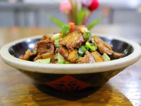 厨师秀年夜饭第10道菜:辣椒炒肉,方法简单,制作省时又好吃
