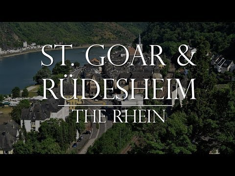St Goar and Rudesheim: The Rhein Germany