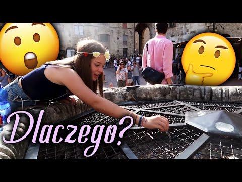 Dlaczego to wrzuciła?! San Gimingiano, Italy