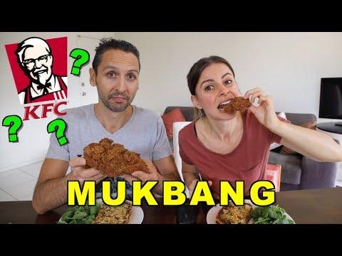 vegans-eat-kfc??-|-mukbang-+-update-+-response