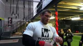 Dmitry Klokov - seminar in Dublin, Ireland