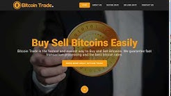 Bitcoin Trade – one page bootstrap website template bitcion website