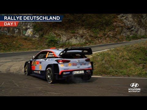 Rallye Deutschland Day One - Hyundai Motorsport 2018