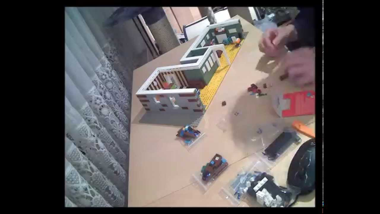 The Lego Movie Emmet S Apartment Timelapse Youtube