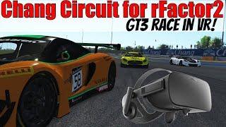McLaren GT3 Race at Chang / Buriram in VR! rFactor 2
