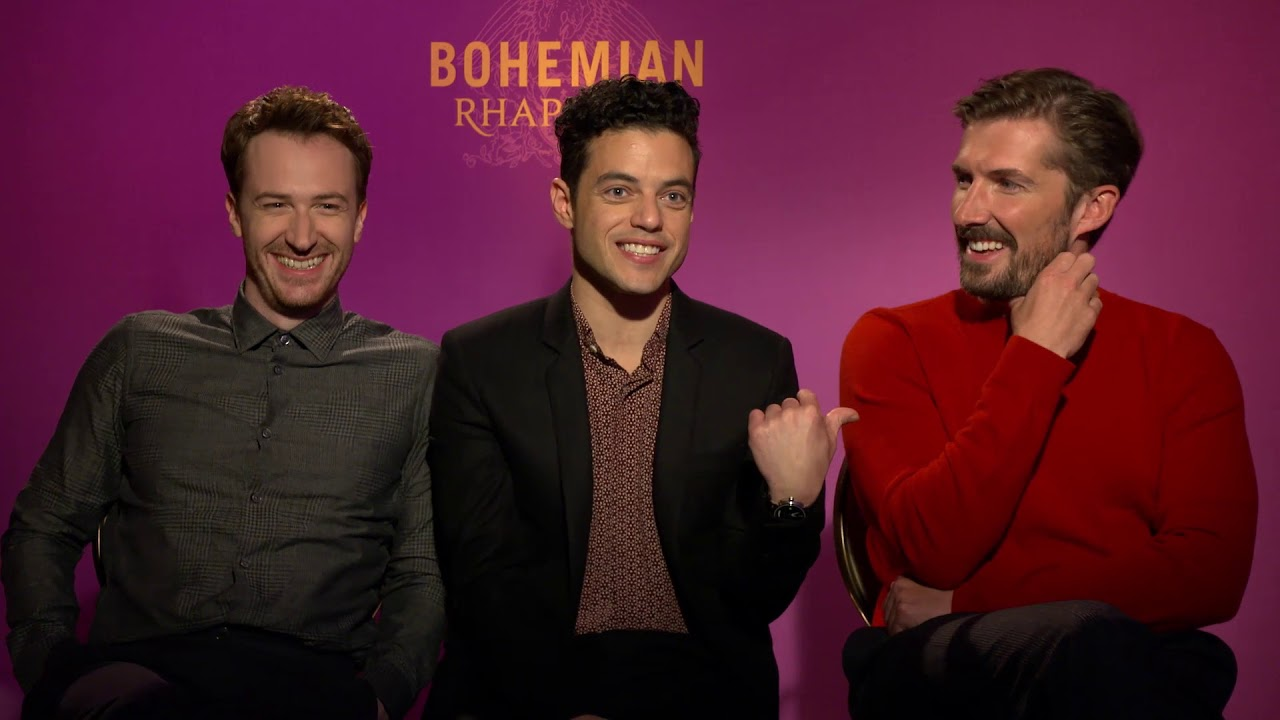 An Interview with the Cast of Bohemian Rhapsody  YouTube