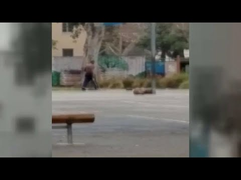 Video shows teacher strip naked, chase students at California elementary school