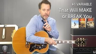 The #1 Variable That Will Make or Break You as a Guitar Player
