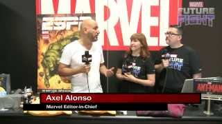 Axel Alonso Gives the State of Marvel on Marvel LIVE! at San Diego Comic-Con 2015