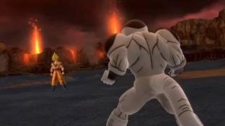 Dragon Ball Z Ultimate Tenkaichi - PS3 / X360 - Goku Vs Frieza Gameplay Video