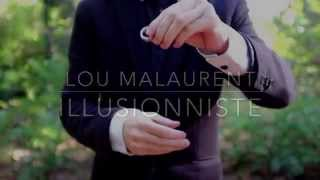 Lou illusionniste/magicien Lyon Teaser Close up