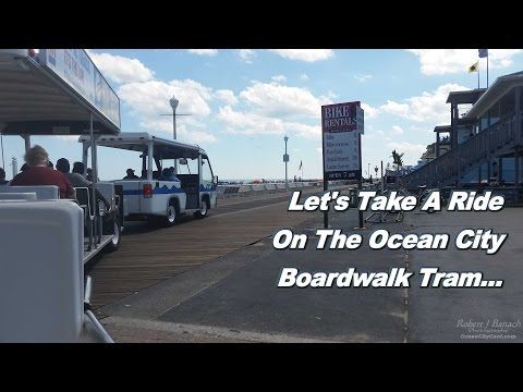 Ride on the Boardwalk Tram * August 2016