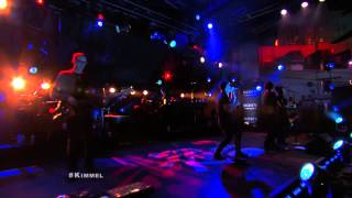Nine Inch Nails played in Los Angeles, California on Jimmy Kimmel L...