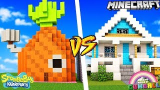 DOM SPONGEBOB VS DOM GUMBALL W MINECRAFT | Vito vs Bella