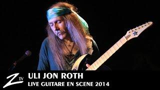 Uli Jon Roth - We'll Burn The Sky & In Trance - Guitare en Scène 2014 - LIVE HD