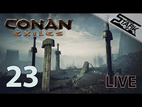 Conan Exiles - 23.Rész (Star Metal és Black Ice) - Stark LIVE