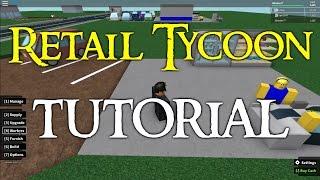 [Roblox] Einzelhandel Tycoon - Tutorial! CHECK DESC