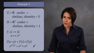 Homomorphisms  (Abstract Algebra)