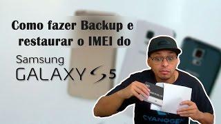 Como Fazer backup e restaurar o IMEI do Samsumg Galaxy S5