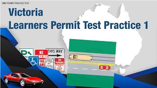 Victoria Learners Permit Test Practice 1