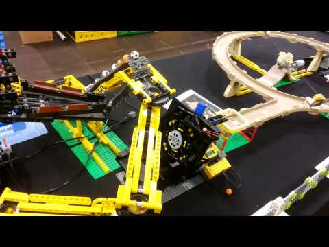 Great Ball Contraption LEGO World Copenhagen 2015