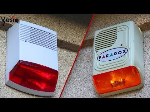 Zamena spoljne alarmne sirene ( stara pregorela )