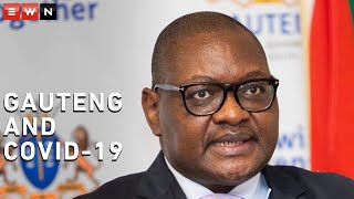 Gauteng Premier David Makhura provided an update on COVID-19 in the province. Gauteng is the epicentre of COVID-19 in South Africa.  #CoronavirusSA #COVID19 #CoronavirusGauteng