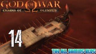 God Of War: Chains Of Olympus Gameplay/Walkthrough Part 14 - Charon Round 2