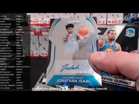 2017/18 Prizm Basketball Blaster 20 Box Case Random Teams #2 ~ 11/6/18