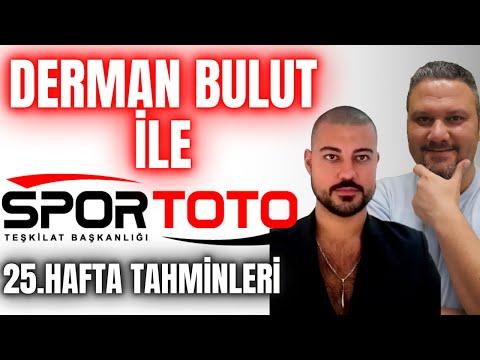 Derman BULUT İle | Spor Toto 25. Hafta Tahminleri | İddaabilir TV