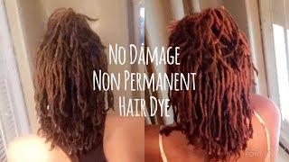 No Damage Non Permanent Hair Dye for Dreadlocks| Natural Pink| The Original Bossbabe