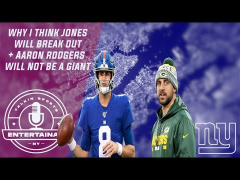 New York Giants | Daniel Jones is finally set up for success! + Why we wont trade for Aaron Rodgers