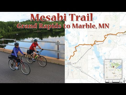 Mesabi Trail: Grand Rapids to Marble