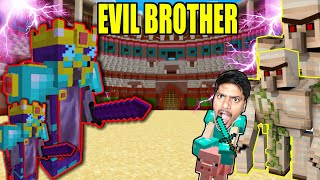 My Evil Twin Brother Final Fight Who will WIN ???  | Minecraft hindi