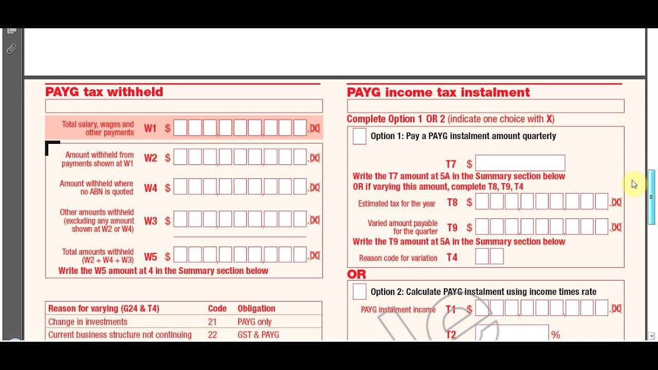 how to read a tax return transcript