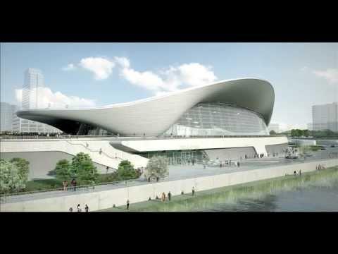 Awesome Projects - Aquatic Centre by Zaha Hadid (London 2012 Olympics)