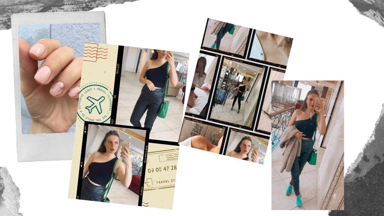 VLOG: მივდივარ სალონში || ვიგრძელებ წამწამებს || H&M