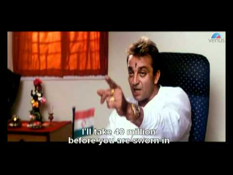 Sanjay Dutt Deals with the MLA (Hathyar)