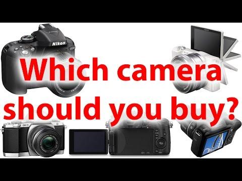 Which Camera Should You Buy?