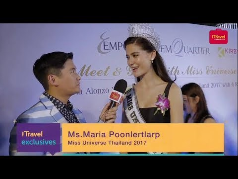 Exclusive interview | Maria Poonlertlarp Miss Universe Thailand 2017 with Tim Yap.