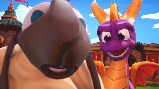 Spyro The Dragon - All Bosses & Ending (Reignited Trilogy)