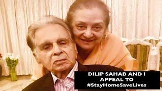Dilip Kumar And Saira Banu Urge Fans To Stay Home
